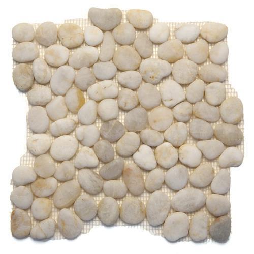 Anatolia Pebbles White Onyx Honed