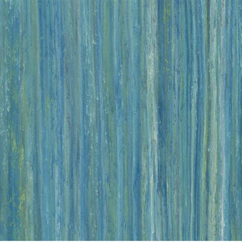 Marmoleum Striato Color Peacock Blue