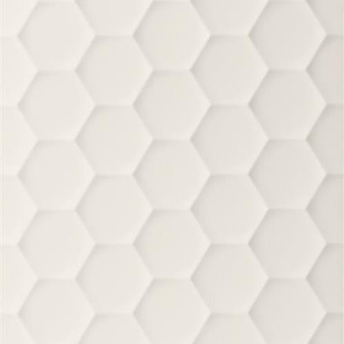 4D Max White - Hexagon