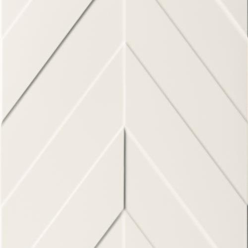 4D Max White - Chevron