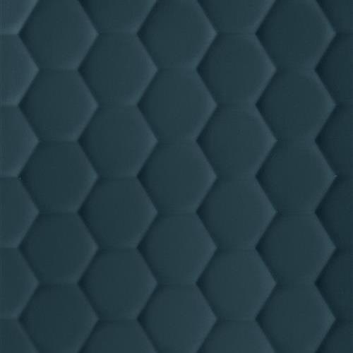 4D Max Deep Blue - Hexagon