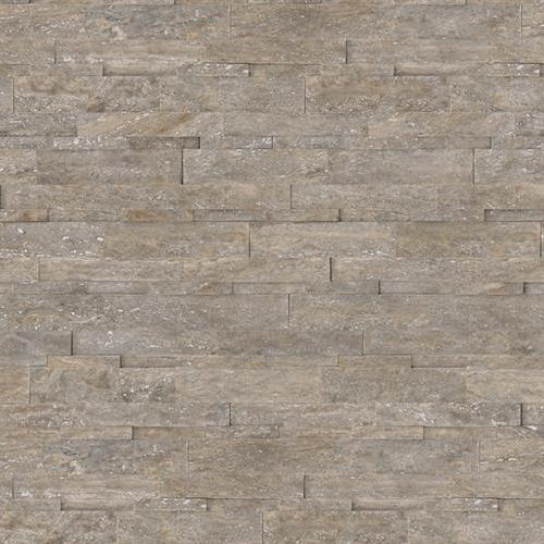 Ledgerstone  Panel Collections Silver Ash Travertine