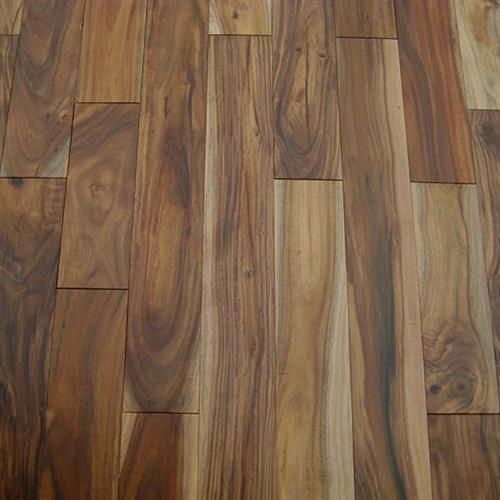 Unfinished Solid Hardwood Acacia Natural