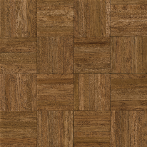 Millwork Square Forest Brown 12