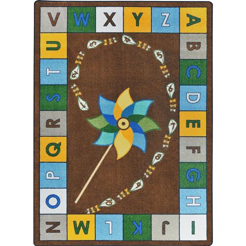 Kid Essentials - Alphabet Pinwheel-81