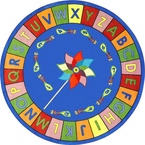 Kid Essentials - Alphabet Pinwheel-86