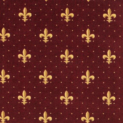 Fleur De Lis - 32 Burgundy 03