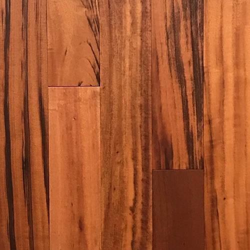 Solid Exotics - Prefinished Tigerwood Natural