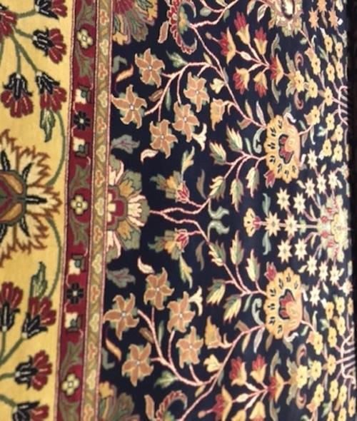 Kashan - 176421 Black/Gold