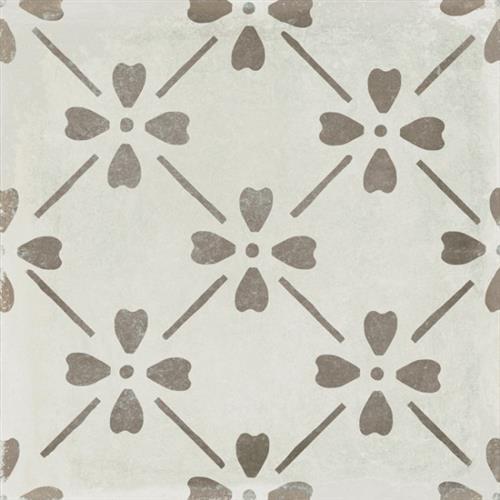 Palazzo Bloom Deco Grey 12X24 Pressed