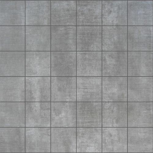Beach Pier Dark Grey 2X2 Mosaic