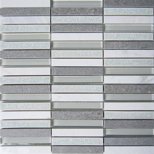 Glacier Glass White 12X1175 Stacked