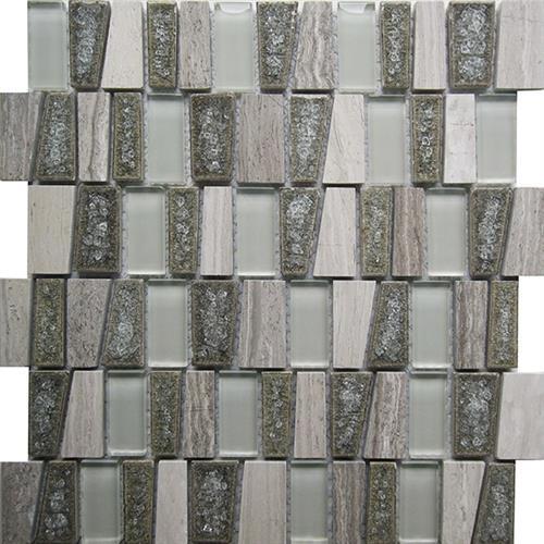 Glacier Glass Grey 1125X1125 Stairstep