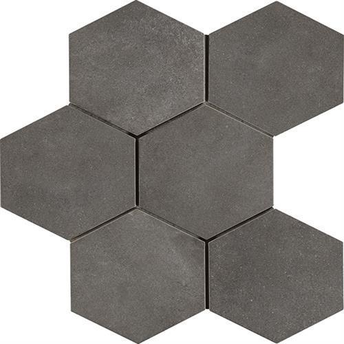 Cassini Peltro 8X7 Hexagon Decor