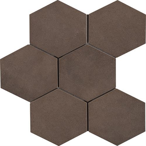 Cassini Tobacco 8X7 Hexagon Decor