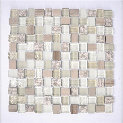 Glass Boutique Grey 118X118 Marble Mosaic