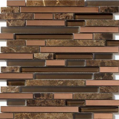 Glass Loft Copper Chocolate Mix 12X12