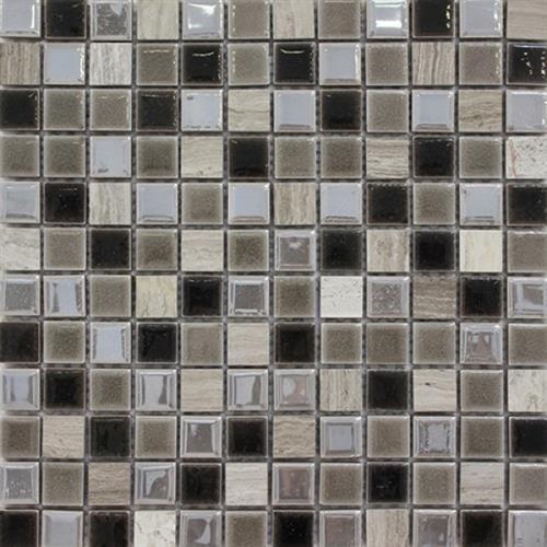 Picture Guizhou  Grey 1X1 Craquelle Mosaic