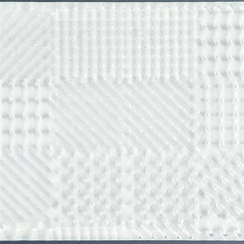 Glass Vogue Super White 3X12 3D Textured Brick