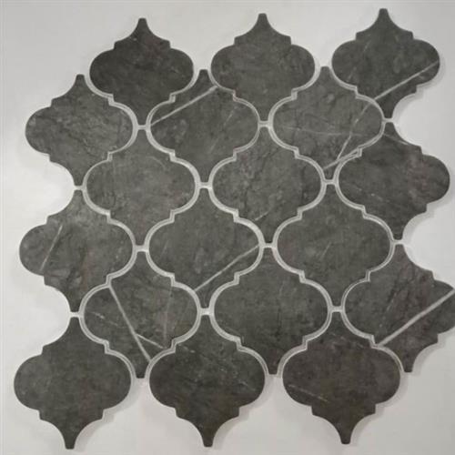 Arabesco Pietra Grey 3X3 Mosaic