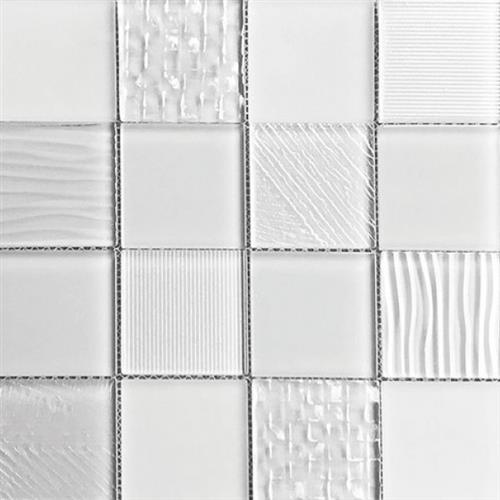 Glass Blox Frost 3X3 Mosaic