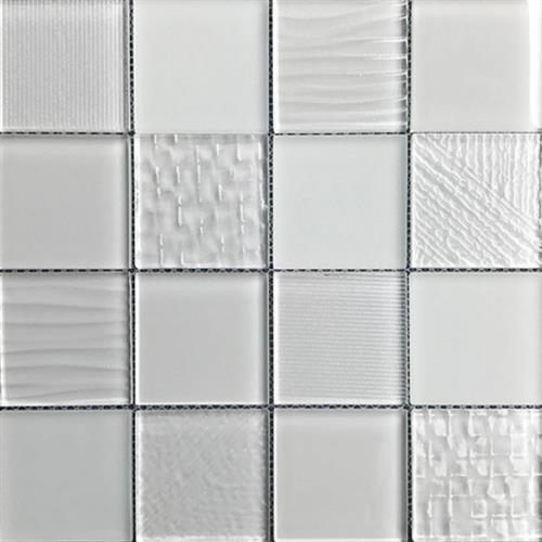 Glass Blox Cloud 3X3 Mosaic