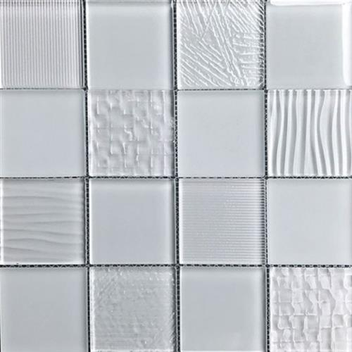Glass Blox Rain 3X3 Mosaic