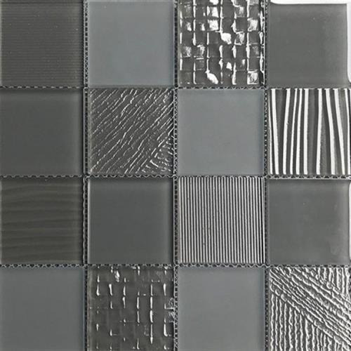 Glass Blox Ash 3X3 Mosaic