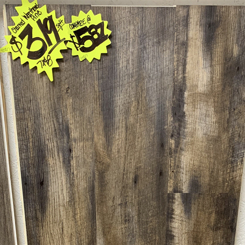In-Stock Luxury Vinyl Karndean Korlok Reserve - Charred Wthrd Pine 7X48 Running Stock