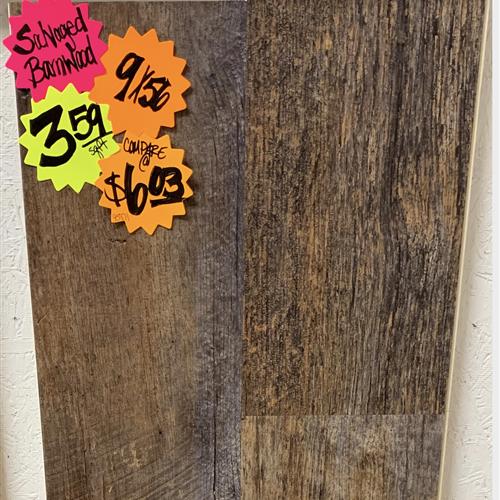 In-Stock Luxury Vinyl Karndean Korlok Select - Salvaged Brnwd 9X56 Running Stock
