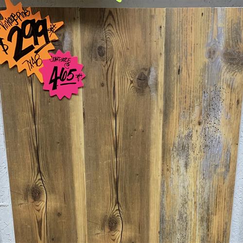 In-Stock Luxury Vinyl Karndean Van Gogh Rigid - Vintage Pine 7X48 Running Stock