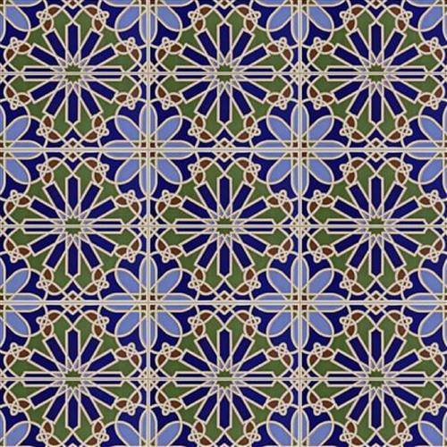 Artesanal Alhambra Ceramic Wall Tile