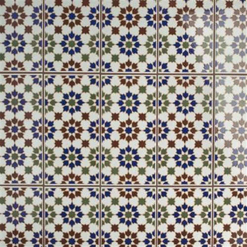 Artesanal Arahal Ceramic Wall Tile