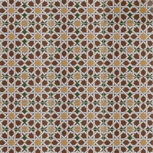 Artesanal Mairena Brown Ceramic Wall Tile