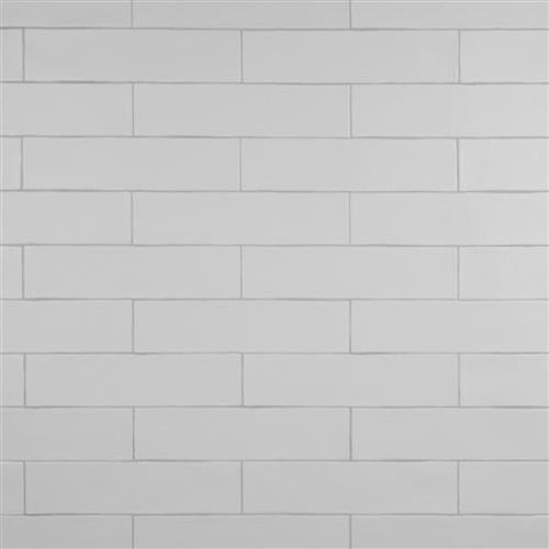 Chester Matte Bianco 3 In X 12 In Ceramic Wall Tile