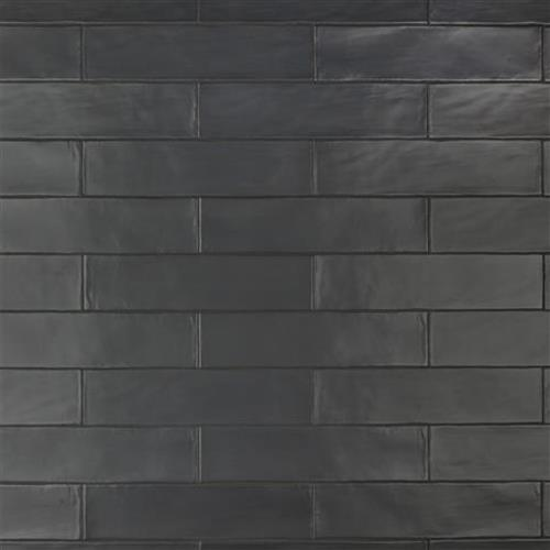 Chester Matte Nero 3 In X 12 In Ceramic Wall Tile