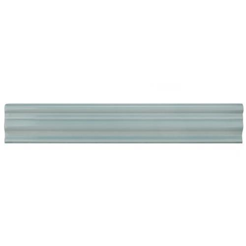Chester Acqua 2 In X 12 In Chair Rail Ceramic Wall Tirim