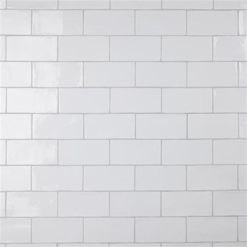 Chester Bianco 3 In X 6 In Ceramic Subway Wall Tile