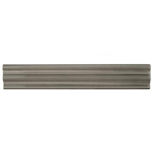 Chester Grey 2 In X 12 In Chair Rail Ceramic Wall Trim Tile