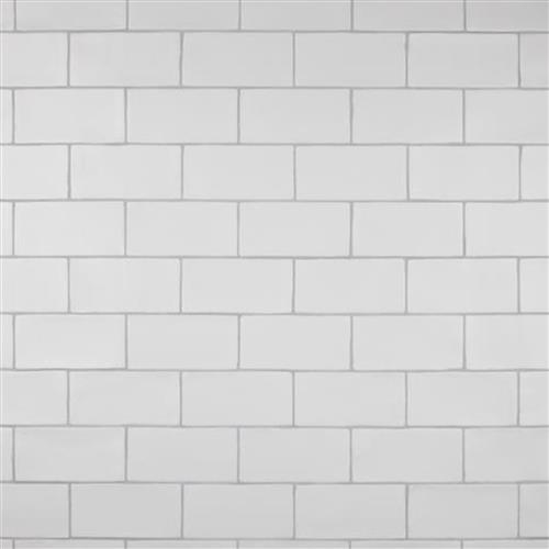 Chester Matte Bianco 3 In X 6 In Ceramic Wall Subway Tile