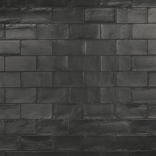 Chester Matte Nero 3 In X 6 In Ceramic Wall Subway Tile