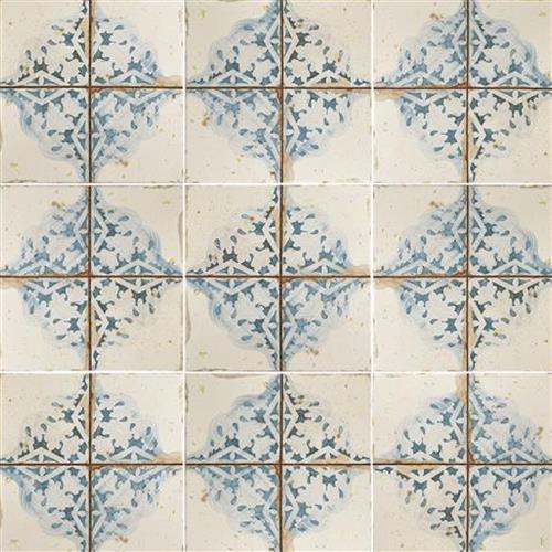 Artisan Azul Decor Ceramic Floor And Wall Tile