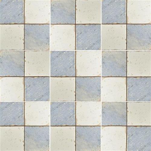 Artisan Damero Azul Ceramic Floor And Wall Tile