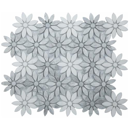 Ornate Stone Flower