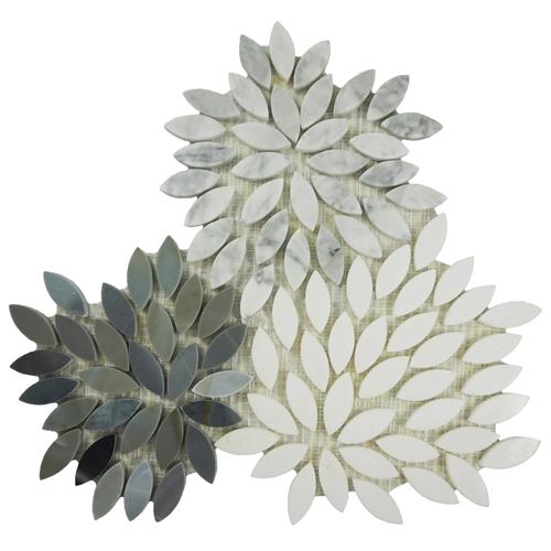 Ornate Stone Leaf