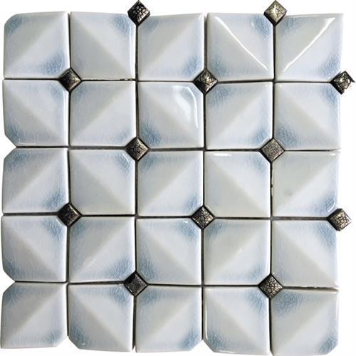 Ceramique Blue Pillow