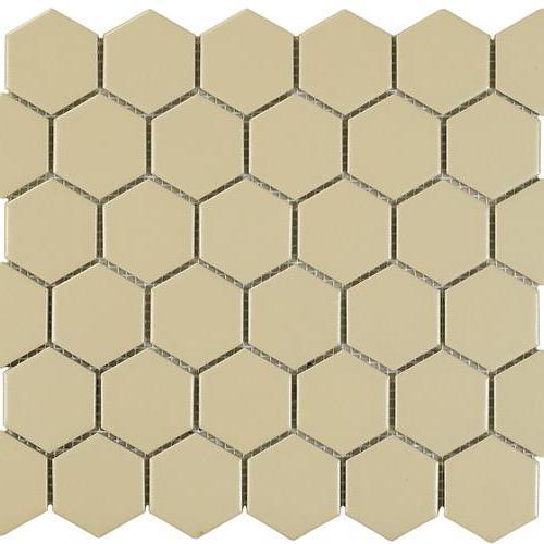 Urban Textures Mosaics Beige Matte - Hexagon