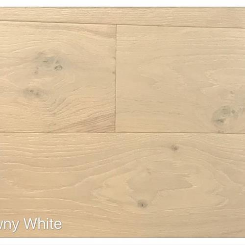 Wire Brushed Collection Downy White
