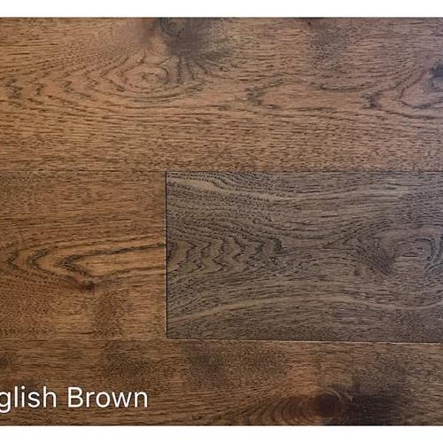 Wire Brushed Collection English Brown