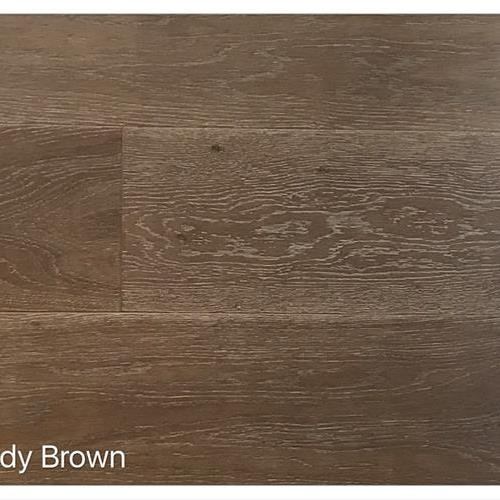 Wire Brushed Collection Sandy Brown